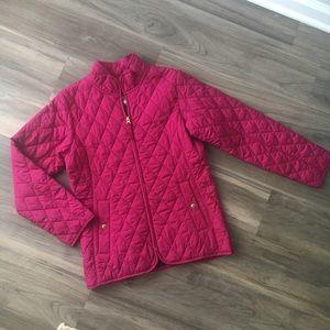 Lands End Women's Puffer Jacket Size Medium 10-12